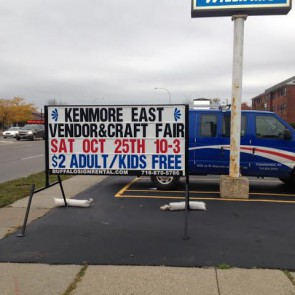 Kenmore East Sign