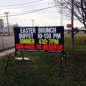 Easter Brunch On Maple