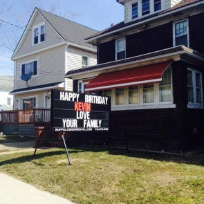 Kevins Birthday Sign