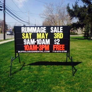 Rummage Sale on Main St